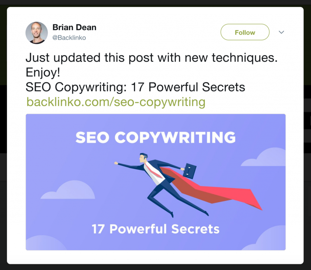relaunched article seo copywritting