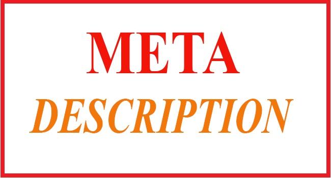 Meta description chính là đoạn văn ngắn mô tả chung nhất về bài viết
