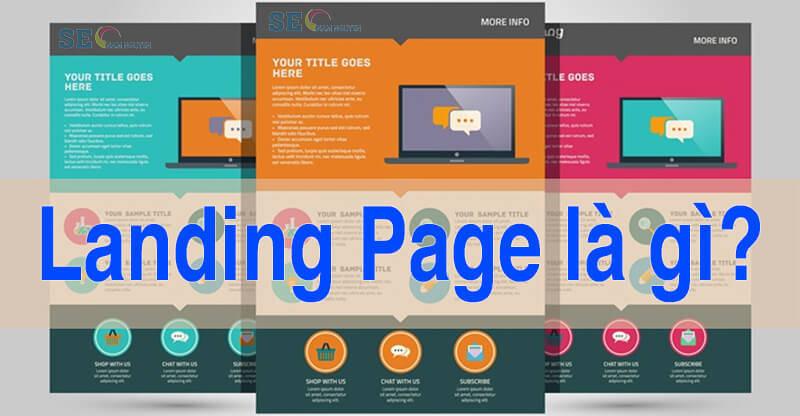 Các dạng landing page hiện nay