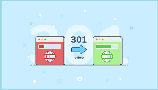 Redirect 301 thay đổi URL