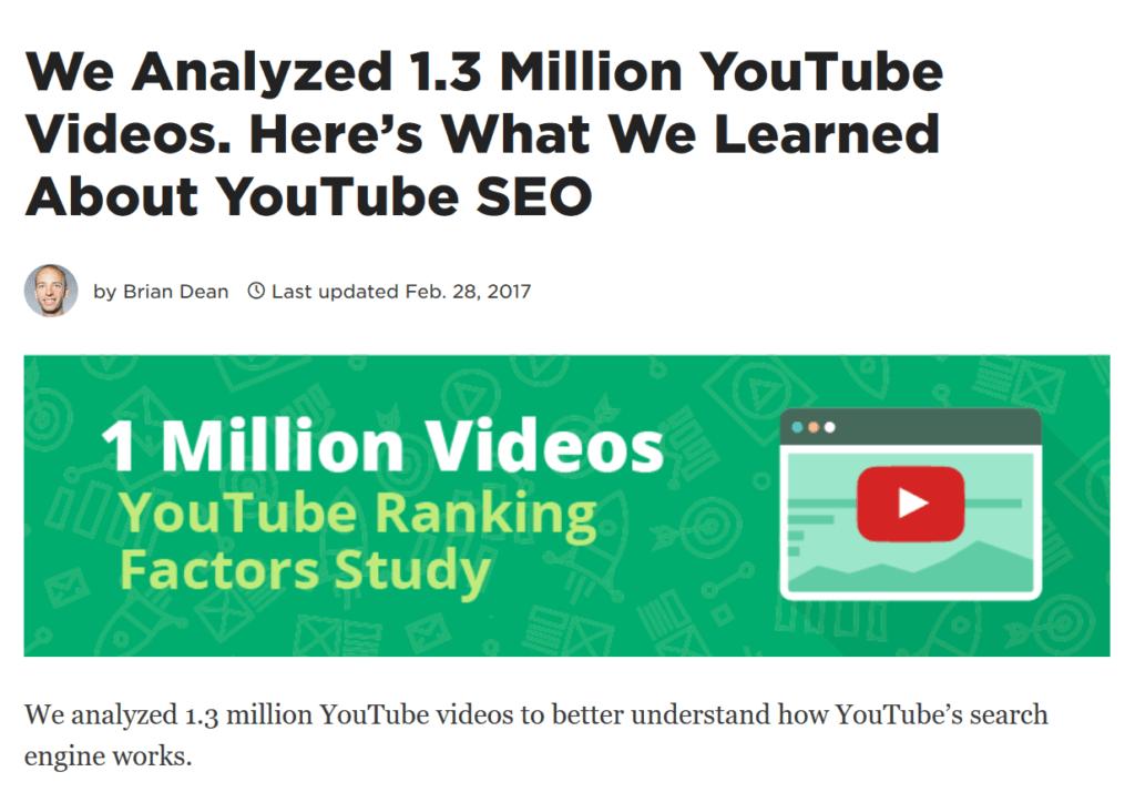youtube ranking factor chia se linkedin lai