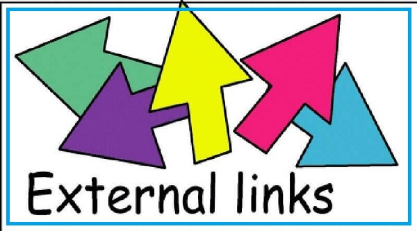 Những trang không nên đặt External link